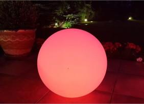 Kula ogrodowa 60cm. 16 kolorów, Przenośne lampy ogrodowe LED