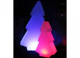 Lampka dekoracyjna LED RGB, przenośna, indukcyjna, duża choinka 16 kolorów, różne funkcje.