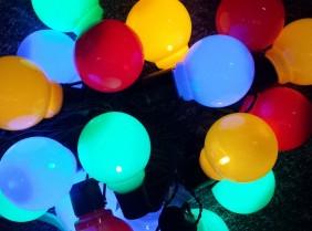 Światełka ogrodowe LTP-20 - multikolor