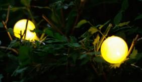 Zewnętrzne światełka z serii Party Line