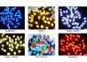 Lampki choinkowe w różnych kolorach