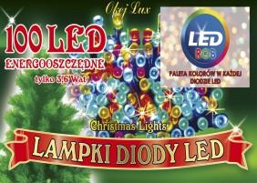 Oświetlenie świąteczne, lampki choinkowe RGB. Hurtownia lampek choinkowych OKEJ