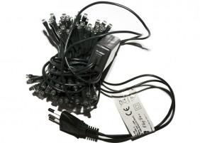 Lampki choinkowe L-100RGB - 7 zmieniających się kolorów w każdej diodzie LED