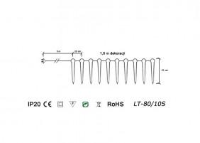 Sople LT-80/10S - schemat techniczny