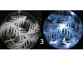 Podświetlana bombka LED - wariant 3