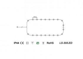 ZEWNĘTRZE świeczki LED - LS-30/LED