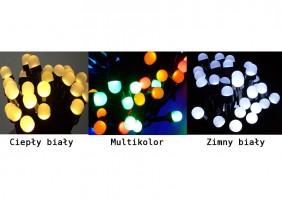 Perełki zewnętrzne LED - dostępne kolory