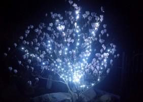 Lampki mini LED w kolorze zimnym białym do różnych dekoracji
