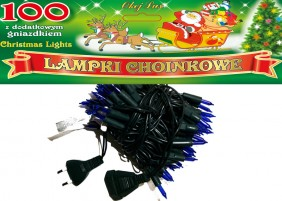 Tradycyjne lampki żarówkowe z dodatkowym gniazdem - możliwość łączenia 5 kompletów