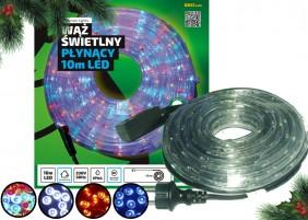 Zewnętrzy wąż LED - 10 metrów, dostępny w różnych kolorach
