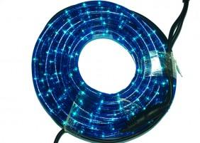 Zewnętrzny wąż świetlny LED - kolor niebieski