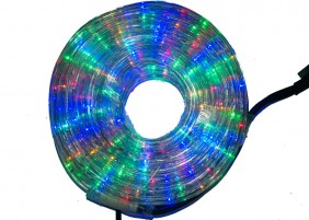 Zewnętrzny wąż świetlny LED - multikolor