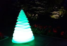 Lampa ogrodowa LED RGB zmieniająca kolory - 5 trybów świecenia