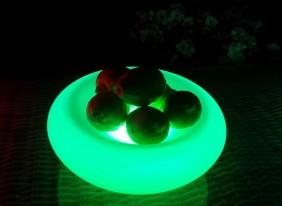 Misa na owoce LED RGB - przenośna lampa dekoracyjna