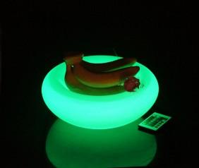 Podświetlana misa na owoce - lampy dekoracyjne LED RGB BelGiardino
