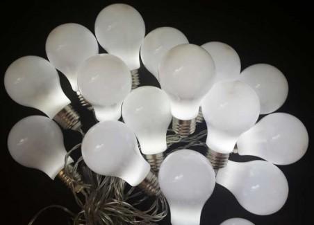 Lampki ozdobne LED z WYŁĄCZNIKIEM CZASOWYM światełka zewnętrzne LT300
