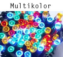 Kurtyna Sopli LED - multikolor
