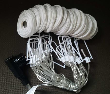 Lampki ogrodowe LED - abażurki do łatwego samodzielnego montażu