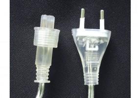 Oświetlenie świąteczne na przeźroczystym kablu, L-100/G-pk