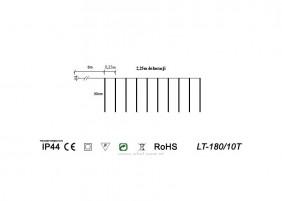 Sople LT-180/10T - schemat techniczny
