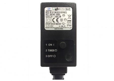 Wyłącznik czasowy - timer do lampek zewnętrznych LED