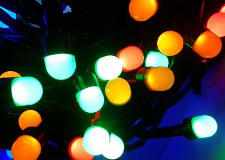 Perełki zewnętrzne LED - multikolor
