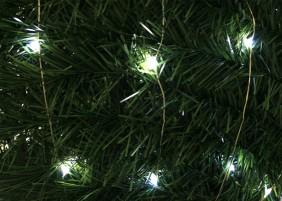 Diody mini LED na zielonym, giętkim drucie