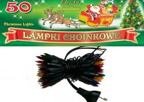 Tradycyjne lampki choinkowe - 50 żarówek