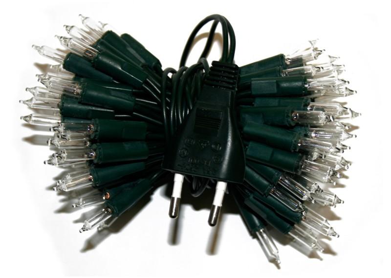 żarówkowe Lampki Choinkowe Wewnętrzne 50 żaróweczek 6
