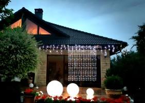 Kurtyna zewnętrzna LED