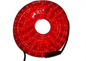 Zewnętrzny wąż świetlny LED - kolor czerwony