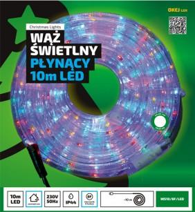 Wąż świetlny LED - 10 metrów z programatorem 8-funkcyjnym