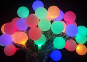 Multikolor - lampki ogrodowe LED
