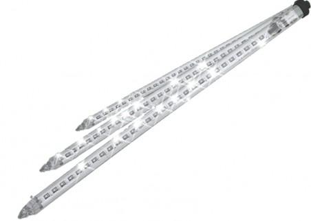 Dekorację tworzy 10 tub po 80cm rozmieszczonych co 3m. Łącznie to aż 27m ozdoby świetlnej