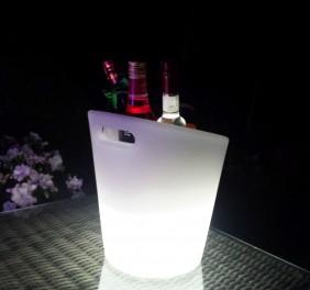 Przenośna, indukcyjna lampa dekoracyjna LED BelGiardino - pojemnik na lód. Różne funkcje i kolory