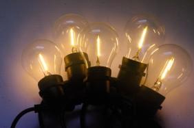 Żarówki ogrodowe, lampki ogrodowe z żarnikiem