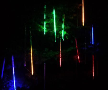 Sople LED Multikolor - 10tub po 80cm - zdjęcie koloru