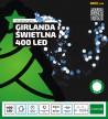 """Girlanda świąteczna - """"PEREŁKI"""" - gęste, dwukolorowe lampki świąteczne"""
