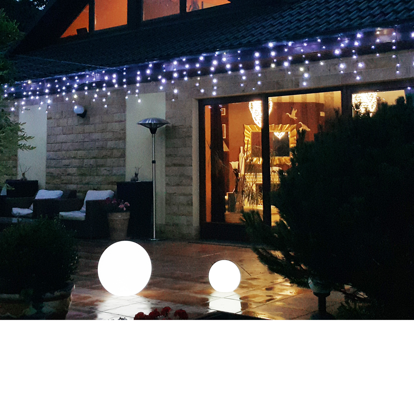 Sople zewnętrzne LED